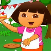 Dora Cake Berry Shop