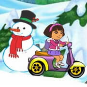 Baby Dora Winter Ride